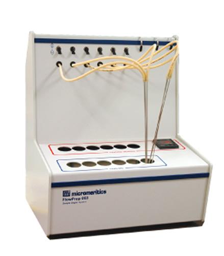 FlowPrep 060 Gas Adsorption Sample Preparation Device