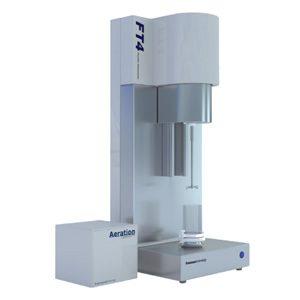 The FT4 Powder Rheometer® – a universal powder tester for measuring powder flow properties and powder behavior.