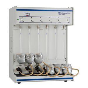 Smart VacPrep Gas Adsorption Sample Preparation Device